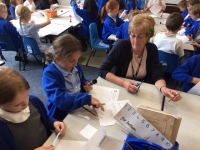Yr2 Classroom Governor Noreen Mewies